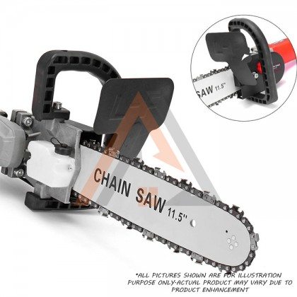 """Chainsaw Stand Bracket Attachment Adaptor 11.5"""" (Angle Grinder Not Included)"""